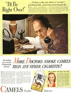 Marcas influenciam pessoas, como no caso dos cigarros