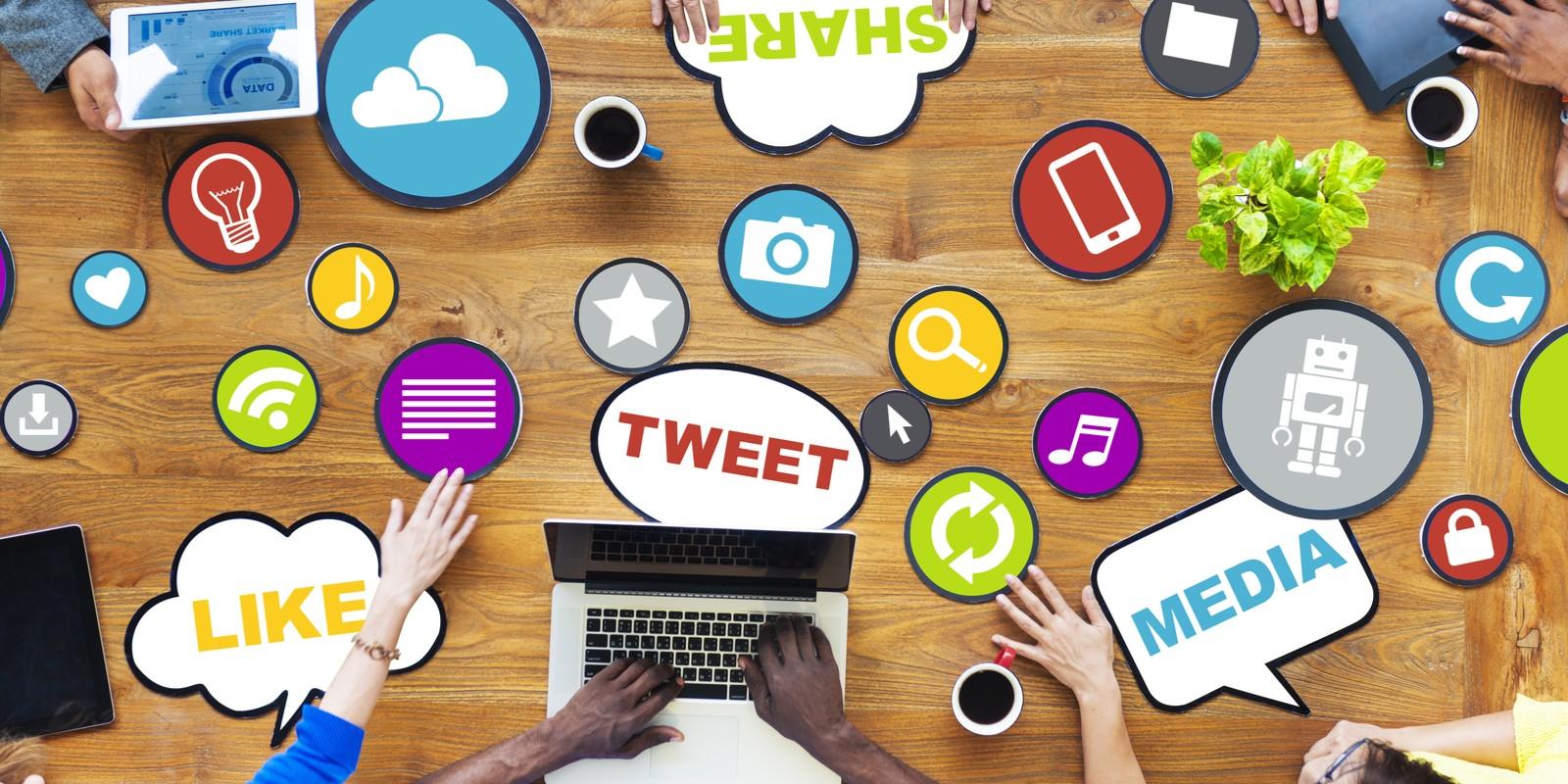 Engajamento redes sociais 2019