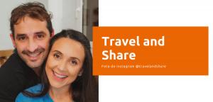 Influenciadores do canal Travel and Share